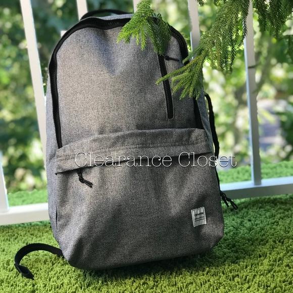 Converse Original Backpack Charcoal Grey Unisex 39a36e6f270a1